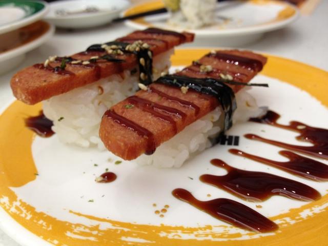 Friday Food Photos – Spam Sushi!
