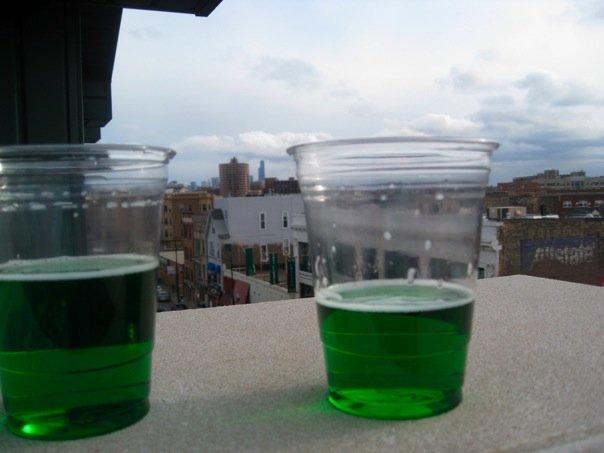 Friday Food Photos – Green Beer