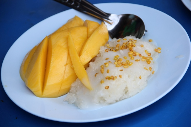 Thai Sticky Rice and Mango #VIDEO