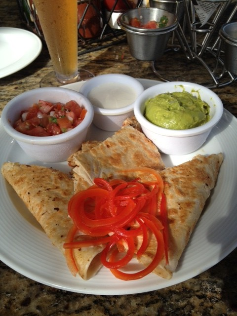 #FridayFoodPhoto – Chicken Quesadillas!!!