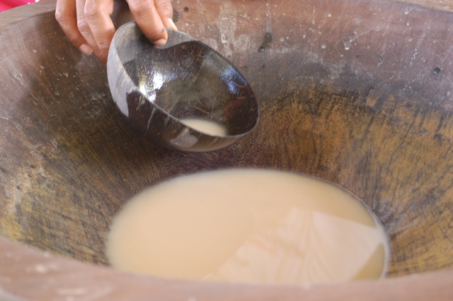 Drinking Kava in Fiji