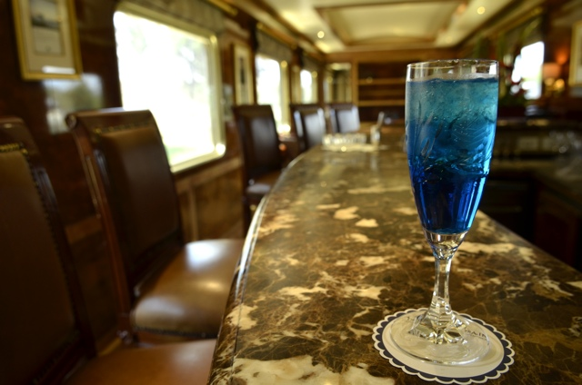 Blue Train Drink – Daily Food Photo