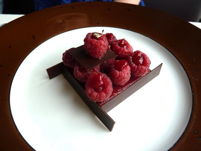 Raspberry Dark Chocolate Torte – Daily Food Photo